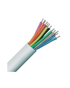 12 Core Type 2 Unscreened Alarm Copper PVC Cable White - Buy online from Sparkshop