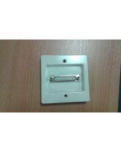 Contactum 2121 25 Pin D Type Computer Socket