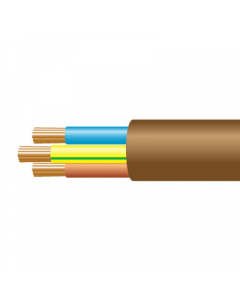 0.5mm² 2183Y 3 core flexible cable, gold