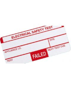 Kewtech 250FAIL Appliance FAIL labels