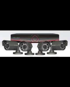 Digiview HDV4KB - 4 Channel True HD CCTV System, Bullet Cameras