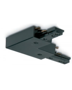 JCC JC14005BLK Right Angle (L) and Straight Connector with Power Feed IP20 Black