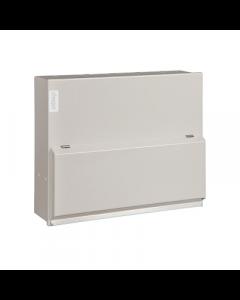 Hager VML106 Metal LA Consumer Unit 6 Way 100A Switch Disconnector Incomer