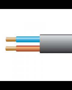 0.5mm² 2192Y 2 Core Flexible PVC cable, Black