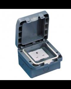 GET GWPIU3050 13A 1 Gang Unswitched IP66 Socket, Weatherproof