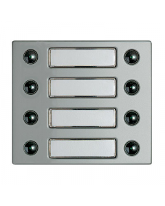 Terraneo/Bticino 332481 8 Push Button Cover