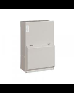 Hager VML202 Metal LA Consumer Unit 2 Way 63A Switch Disconnector Incomer