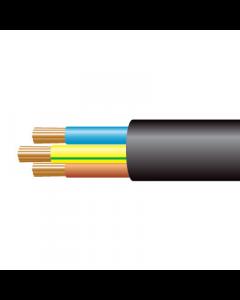 0.75mm² 3183Y 3 Core Flexible PVC cable, Black