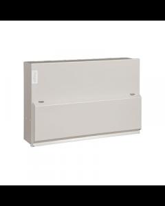 Hager VML110 Metal LA Consumer Unit 10 Way 100A Switch Disconnector Incomer