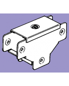 Barton Engineering QFTO22 50mm x 50mm 1 Compartment Tee c/w Outside Lid for Quick Fix Trunking