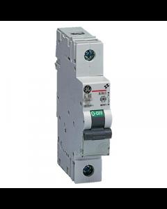 GE Energy EP61B63 Elfaplus Single Pole 63A Type B MCB 6kA