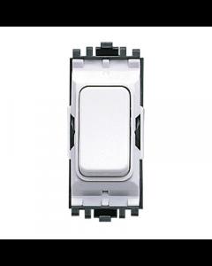 MK Logic K4893WHI Grid Switch, Intermediate, 20A, White