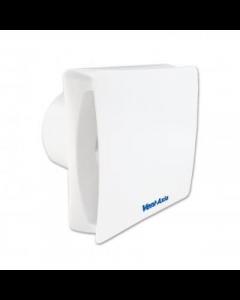Vent-Axia 446659B VASF100T IPX5 4 inch Fan, Silent Axial Bathroom/Toilet, c/w Backdraught Shutter & Timer