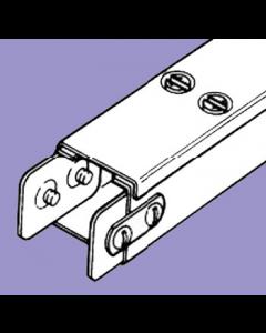 Barton Engineering QF33 3m x 75mm x 75mm Quick Fix Trunking c/w Lid & Couplers