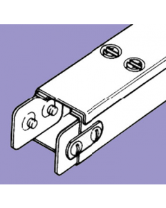 Barton Engineering QF66 3m x 150mm x 150mm Quick Fix Trunking c/w Lid & Couplers for Quick Fix Trunking