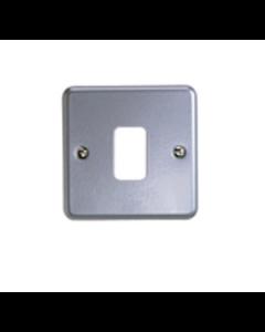 MK Logic K3491ALM Frontplate, 1G 1 Module 86x866mm Aluminium