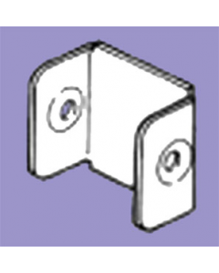 Barton Engineering QFSE33 75mm x 75mm Stop End for Quick Fix Trunking