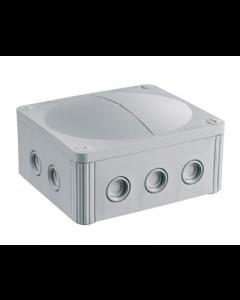 Wiska 10101462 Combi 1210 Junction Box IP66/67 Grey Polypropylene