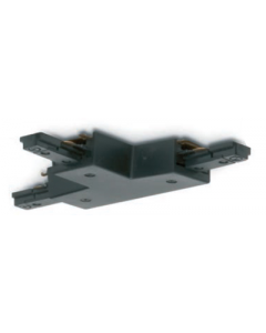 JCC JC14006BLK T Connector for Single Circuit Track IP20 Black