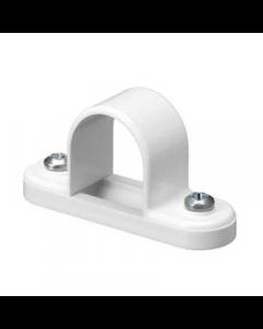 Mita SBS20W Spacer Bar Saddle for Rigid Conduit 20mm White