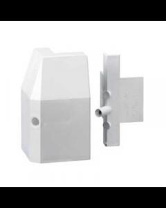 Mita SKE82W External Angle for Skirting Trunking White