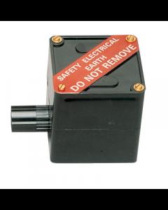 MK Electric EEB1BLK Egatube Earth Electrode Box, Black PVC-U