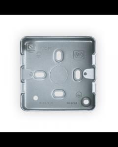 MK Logic K8891ALM Box, 1 Gang Surface c/w KO