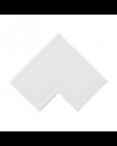 Mita MFA2W 25x16mm Flat Angle for Mini Trunking, White