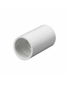 Mita PSC25W Plain Coupler for Rigid Conduit 25mm White