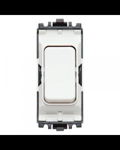 MK Logic K4896WHI Grid Switch, 1 Way DP, 20A, White