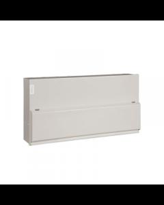 Hager VML120 Metal LA Consumer Unit 20 Way 100A Switch Disconnector Incomer
