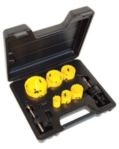 C.K. Tools Hole Saw Kit 8 Pcs (424043)