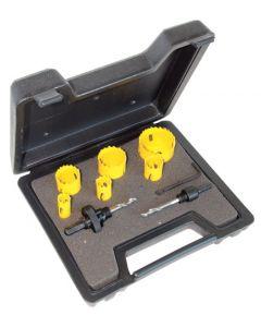 C.K. Tools Hole Saw Kit 9 Pcs Electrician (424045)