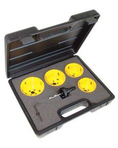 C.K. Tools Hole Saw Kit 6 Pcs Downlight (424046)