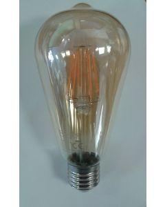 Crompton 4252 7.5W ES-E27 LED Filament ST64 Dimmable Antique Bronze Lamp