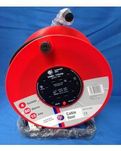 Schneider Electric Jojo JJR45013 50m 13A  4 Socket Open Cable Reel