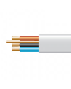 1.0mm² 6243B White XLPE Insulated, LSOH Sheathed Cables with Circuit Protective Conductor - Buy online from Sparkshop
