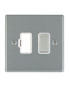 Hamilton Hartland 74SPSS-W Fused Connection Unit 13A White Insert