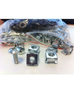 Cage Nuts and Bolts with Crosshead Screws
