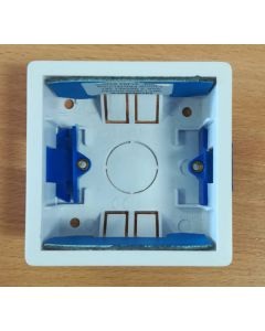 BG Electrical 907FP 1 gang 35mm with intumescent gasket