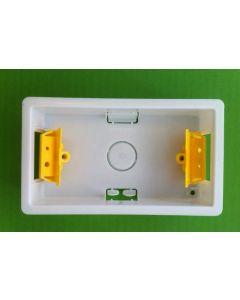 Appleby SB629 Dry Lining Box, 2 gang, 35mm deep