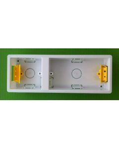 Appleby SB638 Dry Lining Box, Dual box (2 Gang + 1 Gang), 35mm deep