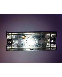 Single architrave flush steel knockout box
