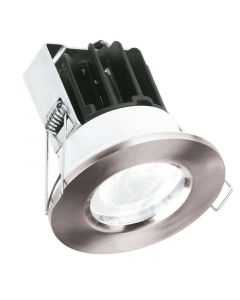 Aurora Lighting AU-FRL801/40 220-240V IP65 Fixed 10W MV Non-dimmable LED Downlight Fire Protection 4000K
