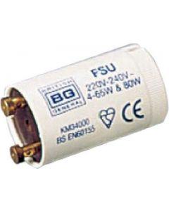 British General FSU 4-80 Watt Fluorescent Starter