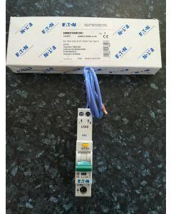 Eaton MEM EMBH106R30C Memshield 3 6A SP Type B RCBO 30mA 10kA