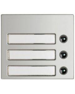 Terraneo/Bticino 332231 3 Push Button Cover
