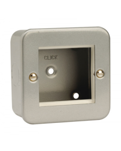 Scolmore CL311 Frontplate, 1 Gang 2 Aperature