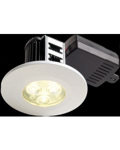 Collingwood Halers DL/WH/F/NW H2 NON-dimmable 240V LED IP65 Fire-rated Downlight White 4000K