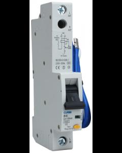 BG Electrical CUCRB6A Single Pole 6A 30mA 1 Module Type A B Curve Compact RCBO